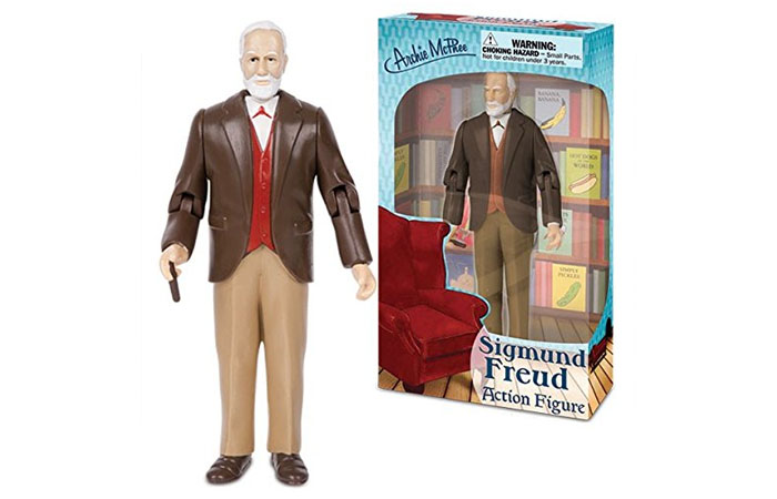 Sigmund Freud action figure. Click here to buy from Amazon.com
