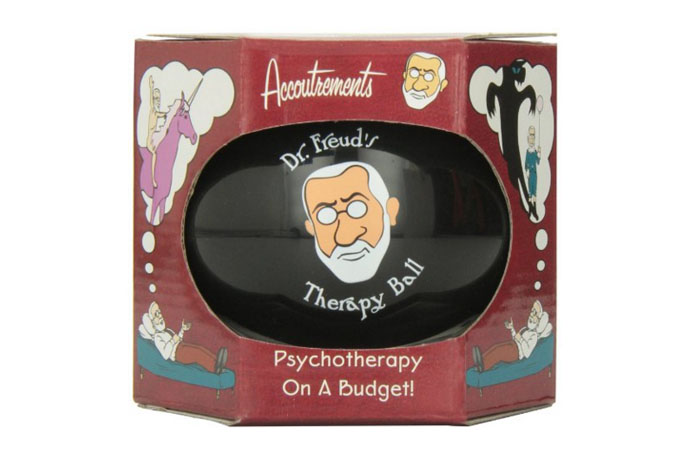 Doctor Freud's magic therapy ball. Click here to buy from Amazon.com