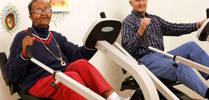 Exercising 2.5 hours per week associated with slower declines in Parkinson's disease patients