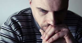 Men with the worst depression might also be the least likely to seek help
