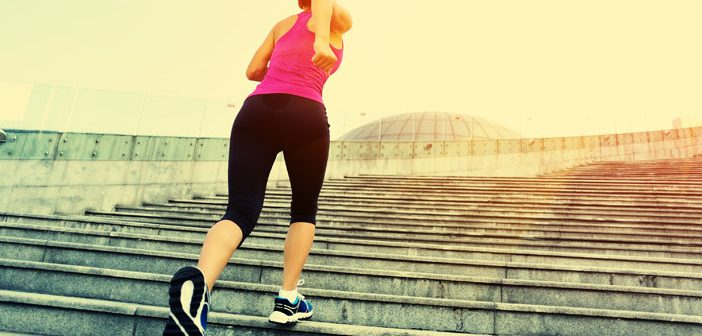 Study finds stair walking can be more energizing than caffeine in sleep deprived women