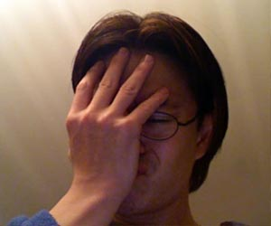 Facepalm by Joe Loong