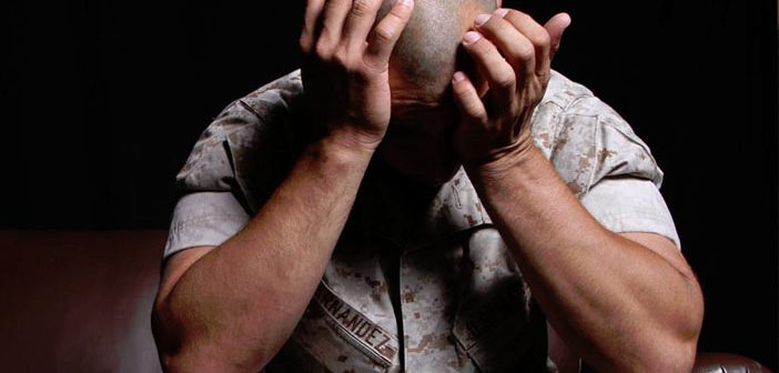 Veterans with both PTSD and depression face much higher risk of suicidal thoughts