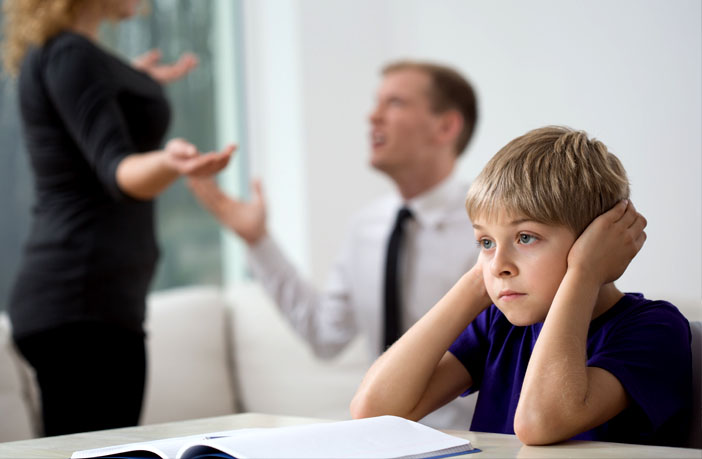 Interparental conflict linked to higher levels of Machiavellianism in boys -- but not girls