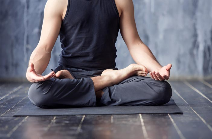 study yoga practice reduces the psychological distress and paranoid