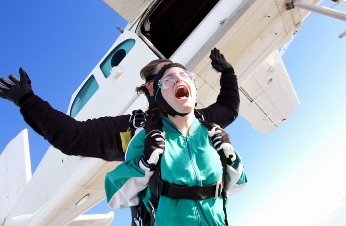 New study reveals how skydiving impacts your testosterone and cortisol levels